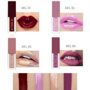 Xshuai 4PCS O.TWO.O New Fashion Waterproof Long-Lasting Moisturiser Matte Liquid Lipstick Cosmetic Sexy Lip Gloss Kit for Women