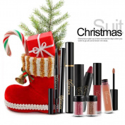 Xshuai NICEFACE Christmas Gift Cosmetic Set Makeup Powder Eyeshadow Lip Gloss Eyelash Lipstick Pen Mascara Eyeliner Combination Cosmetic Kit for Women Ladies Girls