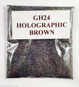 (GH24 - Holographic Dark Grey Brown 10g) Cosmetic Glitter Glitter Eyes Glitter Tattoo Glitter Lips Face And Body Bath Bombs Soap