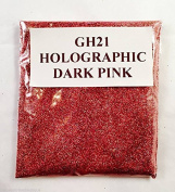 (GH21 - Holographic Dark Pink 10g) Cosmetic Glitter Glitter Eyes Glitter Tattoo Glitter Lips Face And Body Bath Bombs Soap