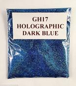 (GH17 - Holographic Dark Blue 10g) Cosmetic Glitter Glitter Eyes Glitter Tattoo Glitter Lips Face And Body Bath Bombs Soap