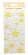 Self Adhesive Glittered Foam Stickers Arts & Craft Accessories-Stars