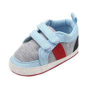 Wawer Newborn Toddler Baby Infants Girl Boy Soft Anti-slip Canvas Casual Shoes For 3~12 Month