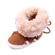 Wawer Lovely Toddler Warm Winter Snow Crib Shoes