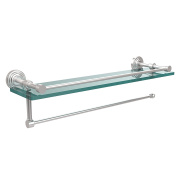 Allied Brass WP-1PT/ 60.6lSCH Waverly Place Collection Paper Towel Holder with 41cm Gallery Glass Shelf