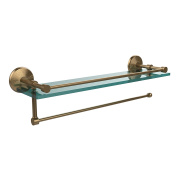 Allied Brass PMC-1PT/ 60.6lBBR Prestige Monte Carlo Collection Paper Towel Holder with 41cm Gallery Glass Shelf