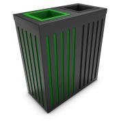 poubelledirect Recycling Waste Bin 90 Litres Bin Body