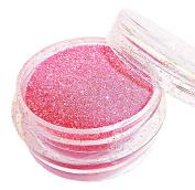 "SHOCKING PINK Christmas Glitter - Full 3gms of ""Glitz Glitter"" Decoration Glitter Dust Powder Pots by Busy Bits - FREE POSTAGE"