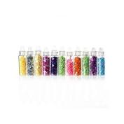 creafirm Shapes Glitter – 12 Vials