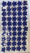 KRAFTZ® Glitter Foam Eva Star Shape Stickers, Self Adhesive For Kids Art & Craft, Decorating Cards and Models - DARK BLUE