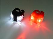 Moonnot 2Pcs LED Bike Lights Front Rear