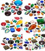 Rhinestones | Gemstones No-Hotfix of Star Bright | 4.0 - 38.0mm, Super Form Mix, 1 Kilogramme