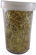 3 Tubs of 20g Fleck Glitter - GOLD - Christmas Card Making - Arts And Crafts