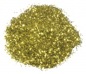 Mould Master Hexagonal Glitter, PVC, Gold, 23 g