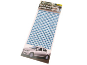 352 5 mm Self-Adhesive Mosaic Tile Crystal Rhinestone Gems Cards, Available in a Range of Colours blue