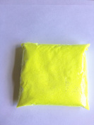 100G NEON YELLOW ULTRA FINE GLITTER POWDER FLORIST WINE GLASS CRAFT NAIL ART DUST