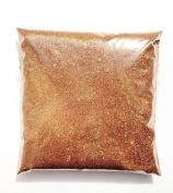 100G FINE GLITTER METALLIC LIGHT COPPER GOLD SILK SMOOTH WINE GLASS CRAFT NAIL ART DUST