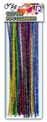 Pennine Glitter Pipe Cleaners, Multi-Colour