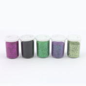ARK Fine Glitter pots 20gm for Crafts - Assorted Colours