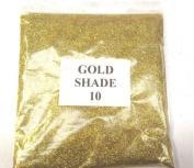 100G GOLD SHADE 10 GLITTER NAIL ART CRAFT FLORISTRY WINE GLASS