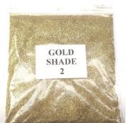 100G GOLD SHADE 2 GLITTER NAIL ART CRAFT FLORISTRY WINE GLASS