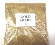 100G GOLD SHADE 1 GLITTER NAIL ART CRAFT FLORISTRY WINE GLASS