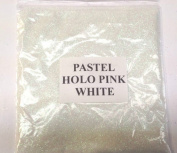 100G PASTEL HOLOGRAPHIC PINK WHITE GLITTER NAIL ART CRAFT FLORISTRY WINE GLASS