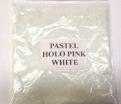 100G PASTEL HOLOGRAPHIC PINK WHITE GLITTER NAIL ART CRAFT FLORISTRY WINE GLASS