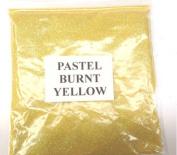 100G PASTEL BURNT YELLOW GLITTER NAIL ART CRAFT FLORISTRY WINE GLASS