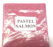 100G PASTEL SALMON GLITTER NAIL ART CRAFT FLORISTRY WINE GLASS