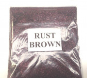 100G RUST BROWN GLITTER NAIL ART CRAFT FLORISTRY WINE GLASS