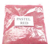 100G PASTEL RED GLITTER NAIL ART CRAFT FLORISTRY WINE GLASS
