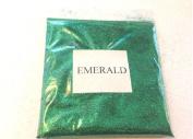 100 Grammes of Metallic Forest Emerald Dark Green Glitter Ultra Fine 0.02cm
