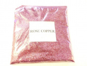 100G METALLIC ROSE COPPER GLITTER ULTRA FINE WINE GLASS ART AND CRAFT NAIL ART SCRAPBOOKING NON TOXIC