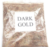 100G HOLOGRAPHIC DARK GOLD GLITTER ULTRA FINE WINE GLASS ART AND CRAFT NAIL A...