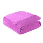 WINOMO Blankets Flannel Fleece Thick Blanket Lightweight Warm Bed Blanket 100x140cm