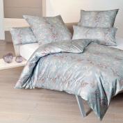 Janine Design Carmen Interlock Fine Jersey Bed Linen 53039 – 2008 Sea, 100% Cotton, 135 x 200 cm + 80 x 80 cm