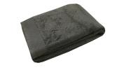 Blanc des Vosges Plain Guest Hand Towel 50 x 30 cm Cotton Charcoal Grey