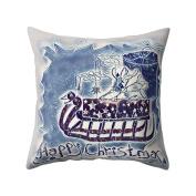 ZHOUBA Christmas Tree Snowman Throw Pillow Cover Case Cushion Home Sofa Car Decor