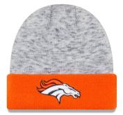 "Denver Broncos New Era NFL ""Chiller Tone"" Cuffed Knit Hat"