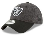 """Oakland Raiders New Era NFL 9Twenty """"Tweed Turn"""" Adjustable Hat"""