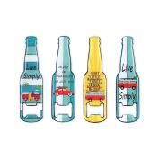 Art Deco Home - Bottle Opener Assorted (One unit) 13 cm - 12455SG