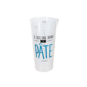Totally Addict ks91001 Patisserie Measuring Cup PP 8.50 X 7,90 x 16.10 cm grey/green/blue/red
