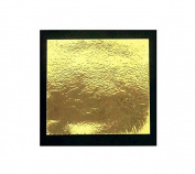 Gold Leaf Beaten Metal (imitation) 25 Sheets Size 14 x 14 CM