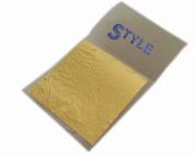 "StyleGold™ 100X Gold Leaf Leaves on Base 24K Gilding Art Craft Christmas Wedding Deco 1.96""x1.96"" or 50mmX50mm"