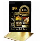 20 BIGGER SHEETS 8CM X 8.5CM 24CT GOLD LEAF ON BASE