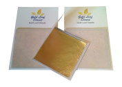Genuine gold leaf sheets X 12 foils for Nail Art Design & craft