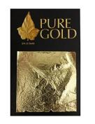 24CT Gold Leaf 100% Genuine Gold Sheets - 50 Sheets