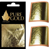 24ct Gold Leaf 100% Genuine 10 sheets