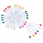 Lcr-Sweety 30 Pins, Headed Pin Wheel, Craft Pin Wheel, Multi-Colour